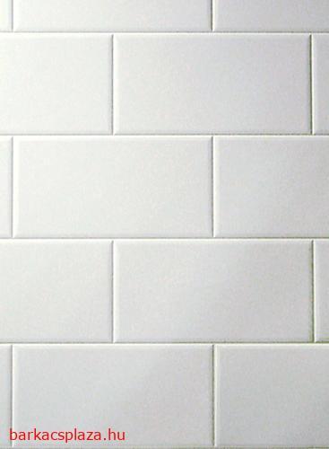 Metro fehér 20x10,8 cm csempemintás vízálló falburkoló panel 2,98 m2 P600