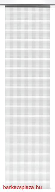 Lapfüggöny Night and Day 60 x 245 cm karo fehér