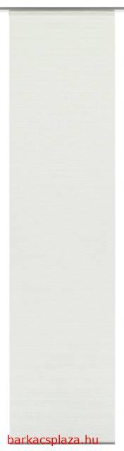 Lapfüggöny Natur-Optik 60 x 245 cm fehér