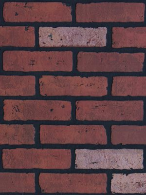 Vörös tégla mintás táblás falburkoló panel 2,98 m2 P288