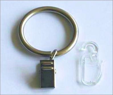 Függönykarika fém Ø19 mm 10 db/csomag Europa