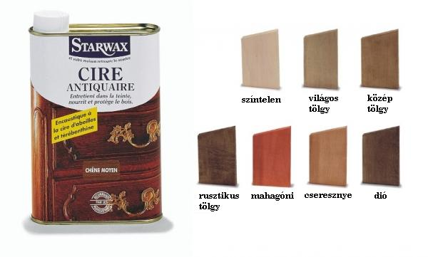 Starwax antiquaire folyékony viasz több színben 500 ml