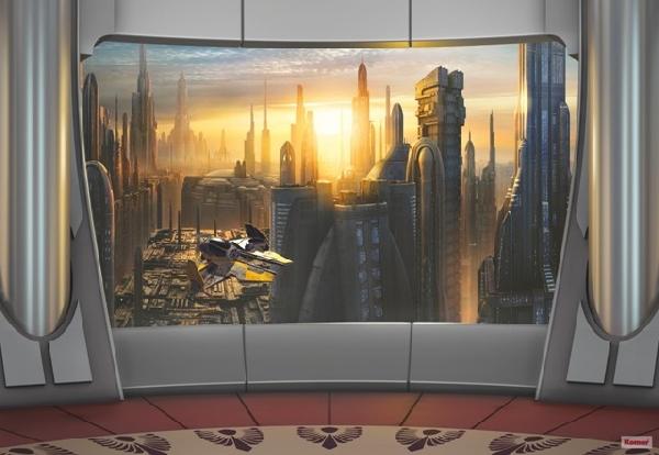 Fotótapéta 8-483 Star Wars Coruscant View