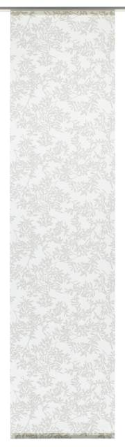 Lapfüggöny 120 Rispe 60 x 245 cm  szürke/fehér