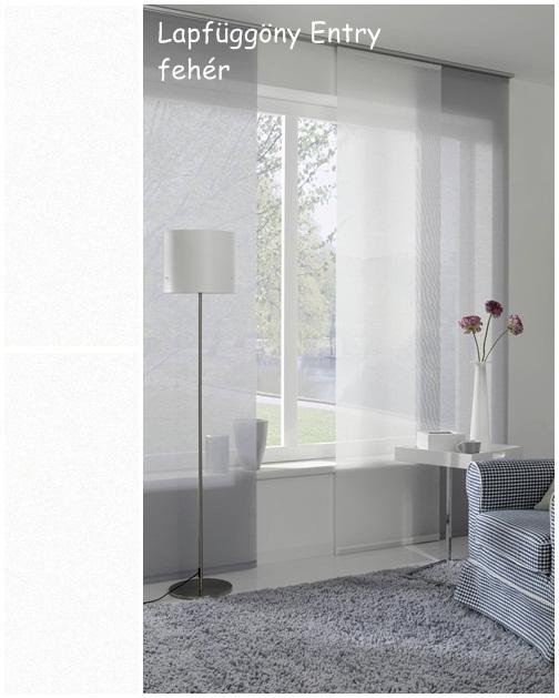 Lapfüggöny Entry 60 x 245 cm fehér