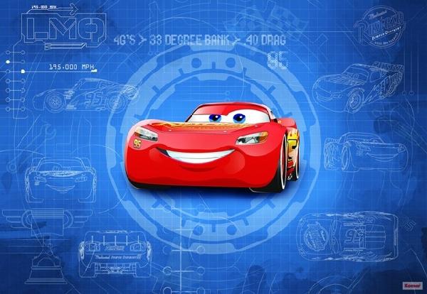 Fotótapéta 8-488 Cars 3 Blueprint