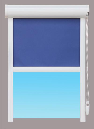 Unimax tokozott, gyöngyláncos roló fényzáró textillel