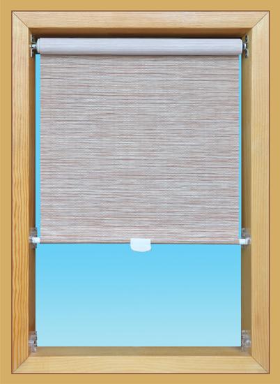 Slim tetőtéri roló napháló textillel