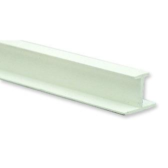 T függönysín 250 cm műanyag fehér