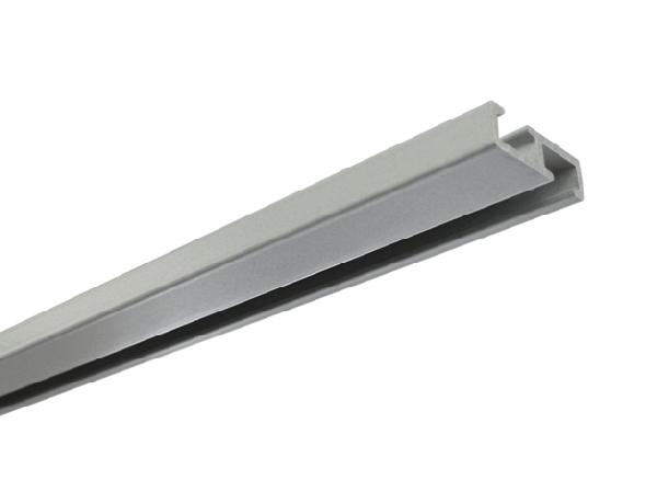 Alumínium függönysín 1 soros, 2 féle színben, egyedi méretre gyártással