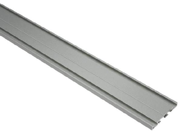 Alumínium függönysín 2 soros, 2 féle színben, egyedi méretre gyártással