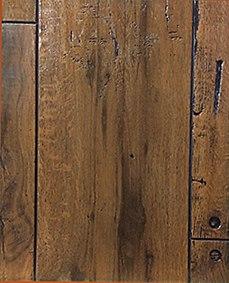 Szögelt deszka rusztikus famintás táblás falburkoló panel P283