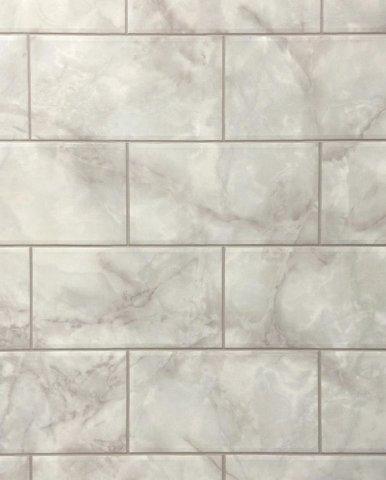 Metro szürke márvány 20x10,8 cm csempemintás vízálló falburkoló panel 2,98 m2 P606