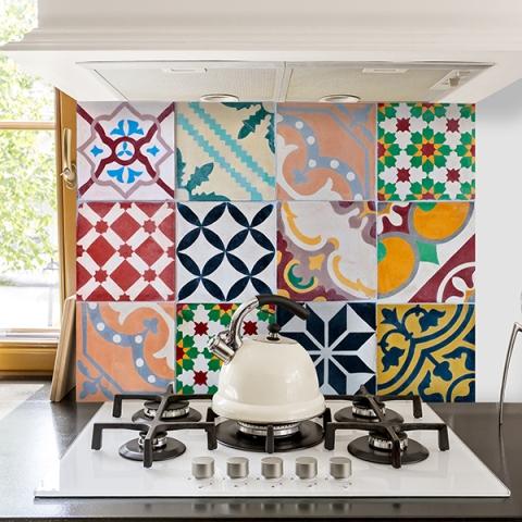 Konyhai dekor fólia 65 x 47 cm Mozaik