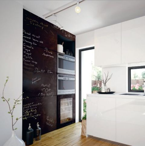 Táblafólia fekete 213-0004 öntapadós 45 x 200 cm