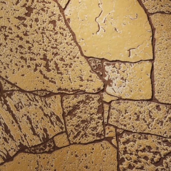Hasított kő mustár kőmintás táblás falburkoló panel 2,98 m2 P165