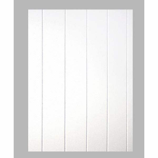 Nútozott fehér famintás, festhető falburkoló panel 2,97 m2 P143