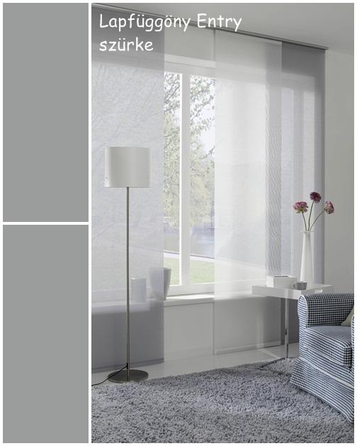 Lapfüggöny Entry 60 x 245 cm szürke