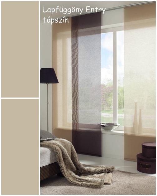 Lapfüggöny Entry 60 x 245 cm tópszín