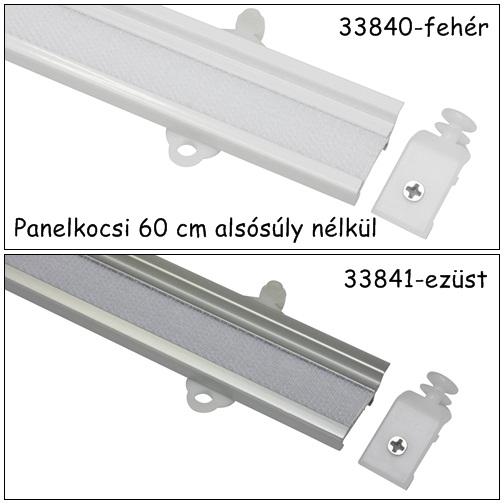 Panelkocsi 60 cm fehér vagy ezüst színben