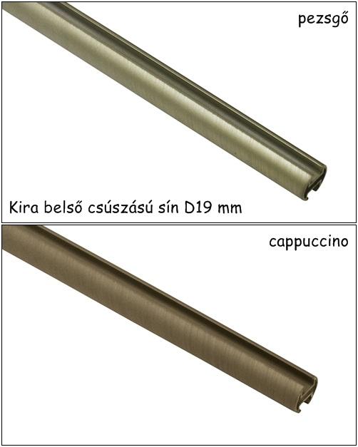 Belső csúszású karnissín 160 cm két féle színben Kira