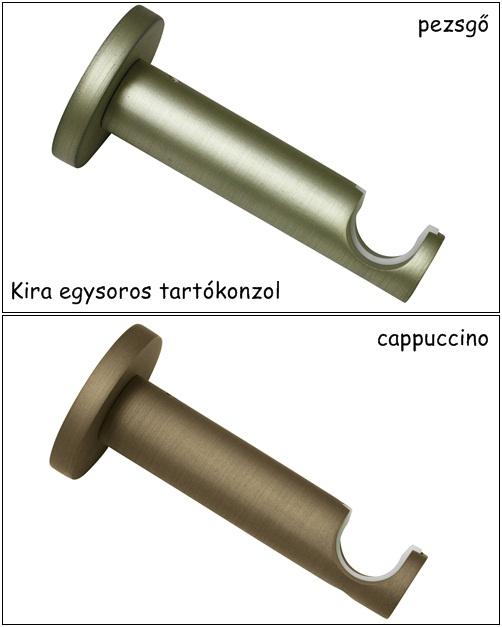 Tartókonzol 1 soros két féle színben Kira