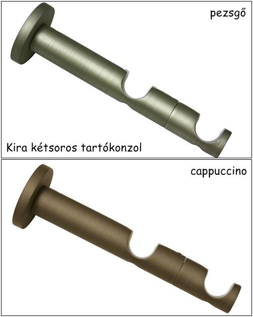 Tartókonzol 2 soros két féle színben Kira