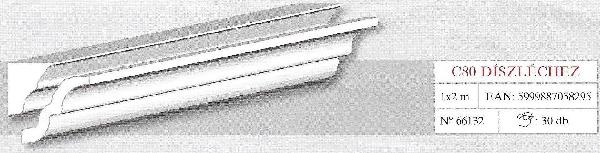 Karnistakaró adapter C80 díszléchez