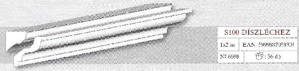 Karnistakaró adapter S100 díszléchez