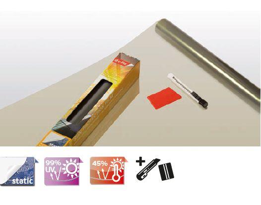 Hővédő üvegfólia szett 339-5000 statikus 90 x 200 cm - D-C-Fix