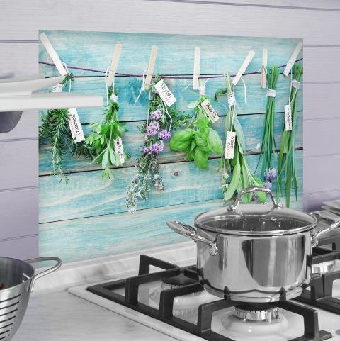 Konyhai dekor fólia 65 x 47 cm Fűszernövények