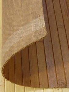 Bambusz falburkolatok