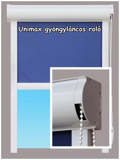 Unimax gyöngyláncos roló